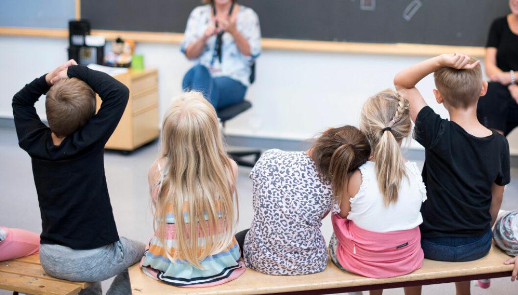 Det er på tide at norske seksåringer får leken tilbake. Foto: Erik M. Sundt