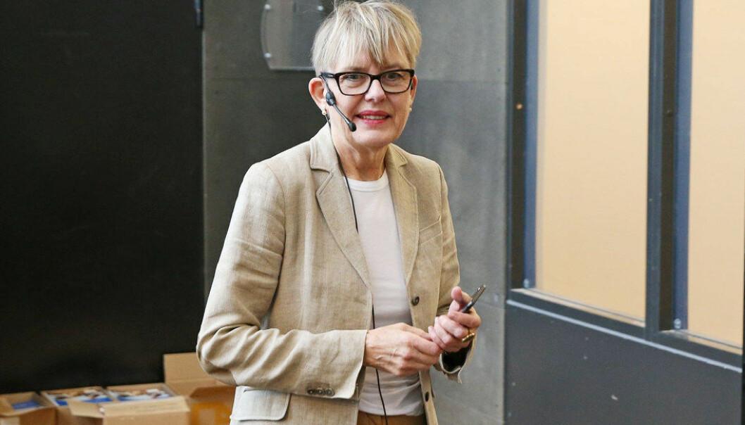Astrid Søgnen går av som direktør for Utdanningsetaten i Oslo 1. desember. Arkivfoto: Foto Trond Solberg/VG