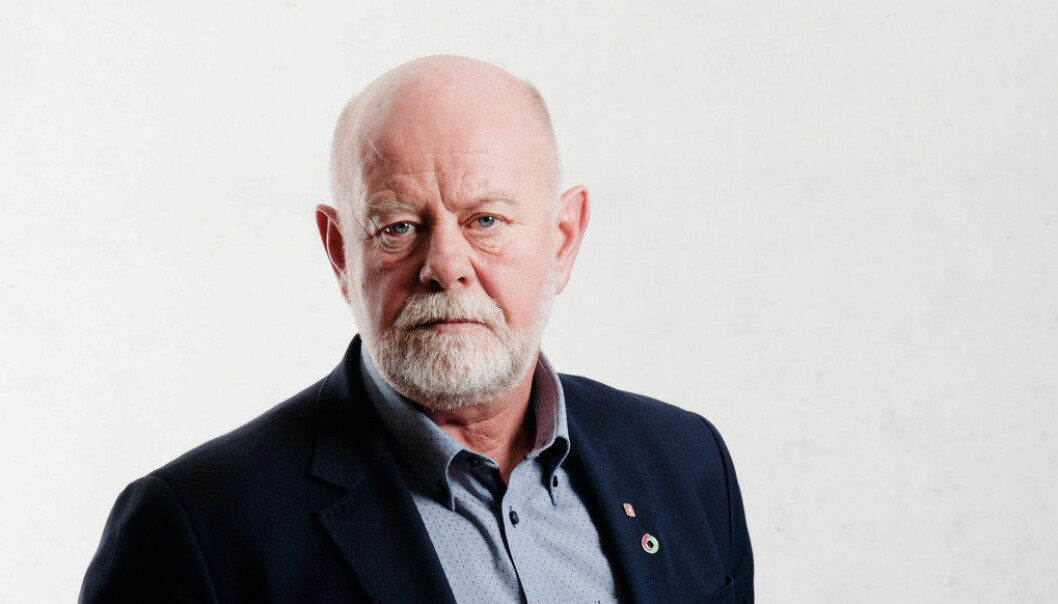 Terje Skyvulstad, nestleder i Utdanningsforbundet.