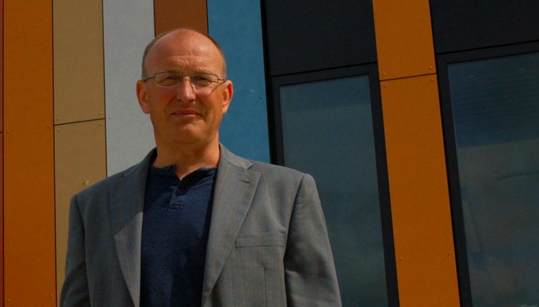 Ved Oslo International School frykter daglig leder Knut Sørlie et nytt krav om botid for lærere. Foto: Innsendt