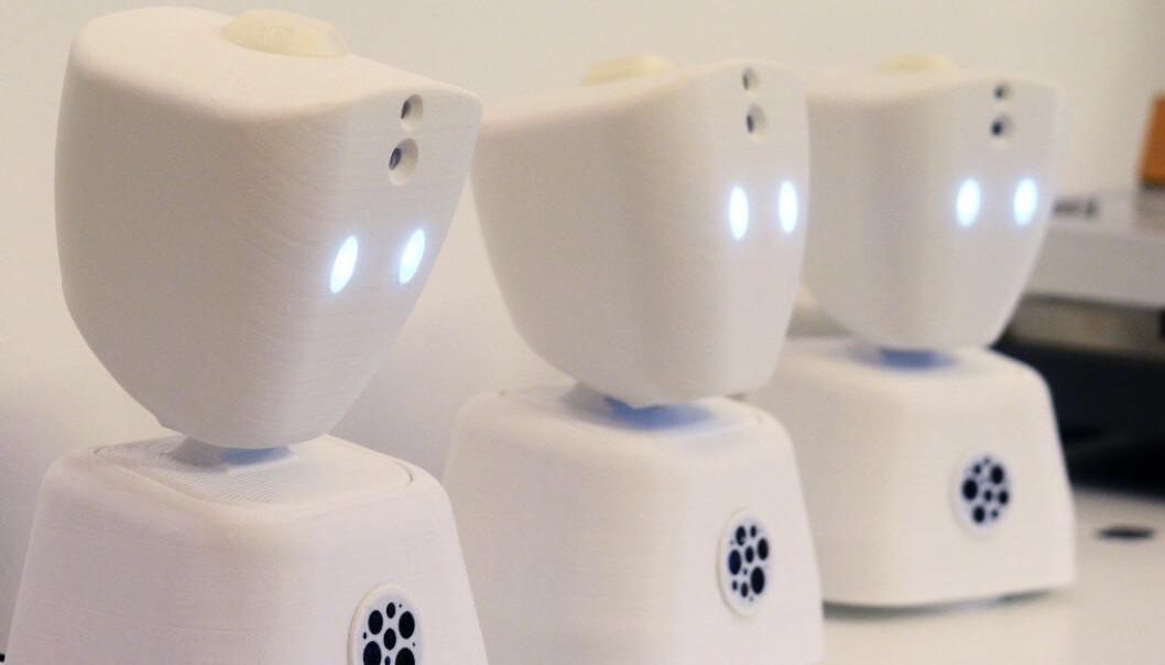En av de nye dingsene som blir heftig promotert i skolen, er en digital robot som skal fungere som «kikkhull» inn i klassen for elever som ikke kan delta i den ordinære undervisningen på skolen sin på grunn av psykiske eller fysiske helseutfordringer, skriver Bente Ingeborg Myrtveit, Siv Merete Fjeldseth og Roar Ulvestad. Arkivfoto: Kari Oliv Vedvik