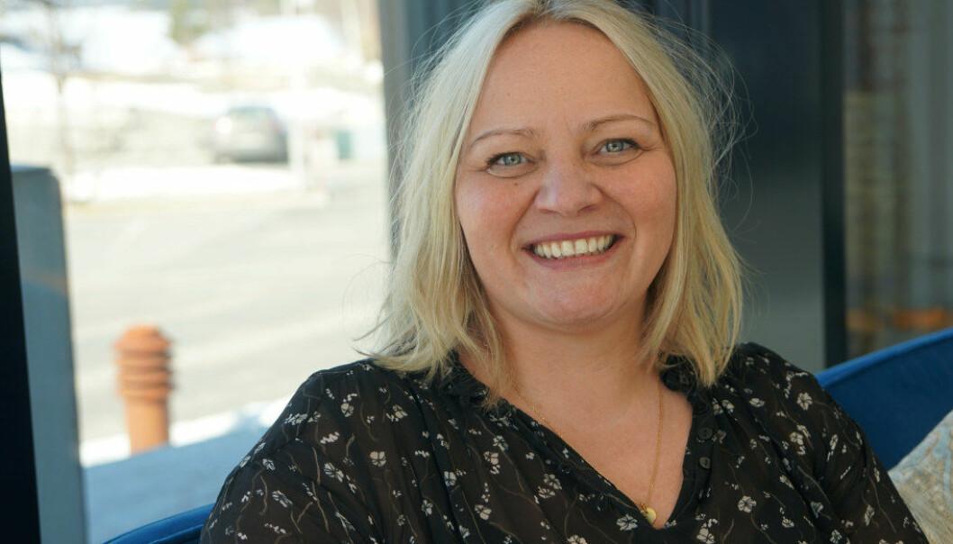 Unntak fra de nye kompetansekravene for dem som begynte på lærerutdanning før 2014 er ett av forslagene SV-representantene Mona Fagerås (bildet) og Audun Lysbakken fremmer for å oppnå bedre lærerdekning. Arkivfoto: Marianne Ruud