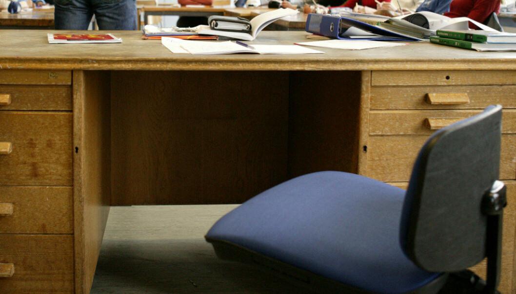 20 % av kommunene i Nord-Norge hadde i forrige skole år 20 % eller mer ufaglærte lærere; sju av disse hadde mer enn 30 %, skriver Karl Øyvind Jordell. Arkivfoto: Utdanning