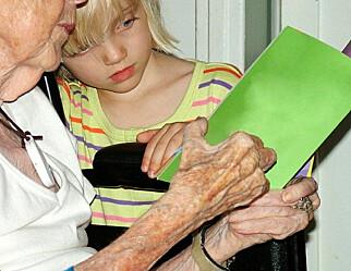 Barnehage + aldershjem = sant
