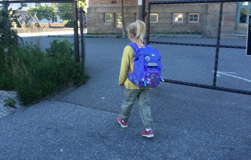«Dagens skoleopplegg er mindre godt tilpassa mange 6-åringar»