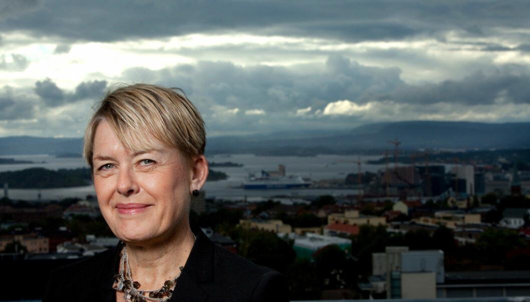Direktør Astrid Søgnen i Utdanningsetaten i Oslo svarer på artiklene om den tillitsbaserte ledelsen på BI. Foto: Tom-Egil Jensen