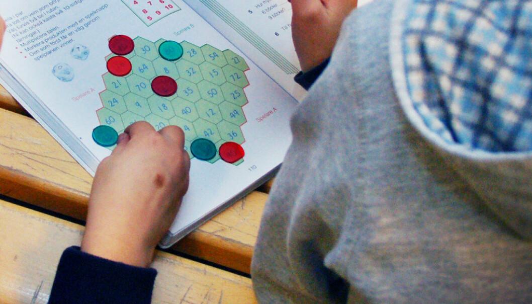 Kanskje tiden er kommet til at man heller bør satse mer på å motivere elevene til å jobbe med faget, i stedet for å prøve å finne enklere og raskere måter å lære det på, spør Stein Arnold Berggren. Arkivfoto: Utdanning