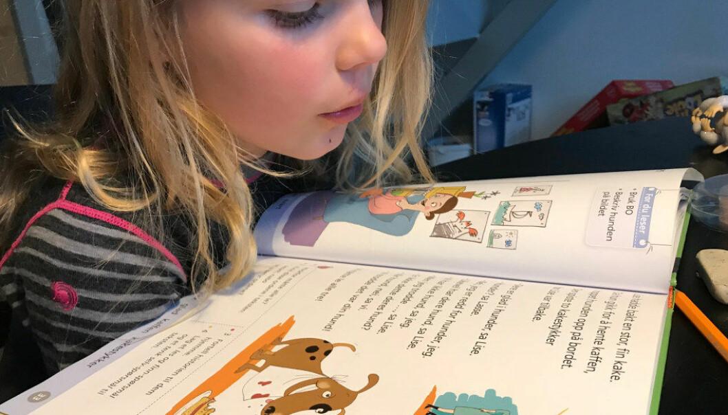 Jenter har bedre resultater på leseprøver enn gutter i alle land. I Norge er det imidlertid et større gap i leseferdigheter mellom gutter og jenter enn i mange andre land. Ill.foto: Paal Svendsen