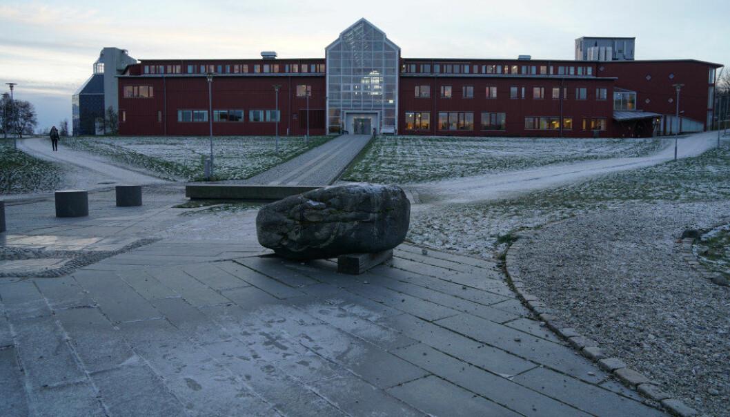 Universitetet i Tromsø Norges arktiske universitet har mest ubrukte penger fra de statlige overføringene, ifølge Kunnskapsdepartementet. Arkivfoto: Marianne Ruud