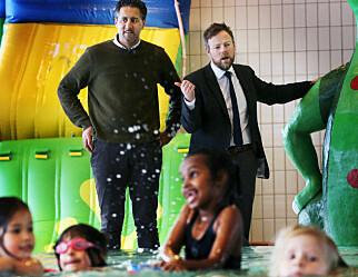 Abid Raja til barnehagene: – Bruk opp svømmepengene, så kommer det mer