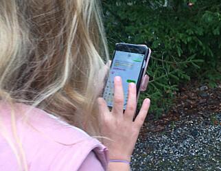 Statsministeren om mobil i skolen: - Er det noe alvorlig, så får foreldrene ringe skolen, slik vi gjorde før