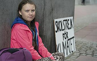 Norsk ungdom streiker i solidaritet med svenske Greta (15)