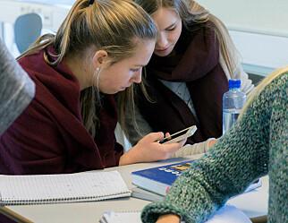 – Et mobilforbud i skolen reduserer unges ytringsfrihet