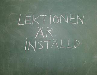 Svensk elevhverdag: 36 utskiftinger av lærere på tre år