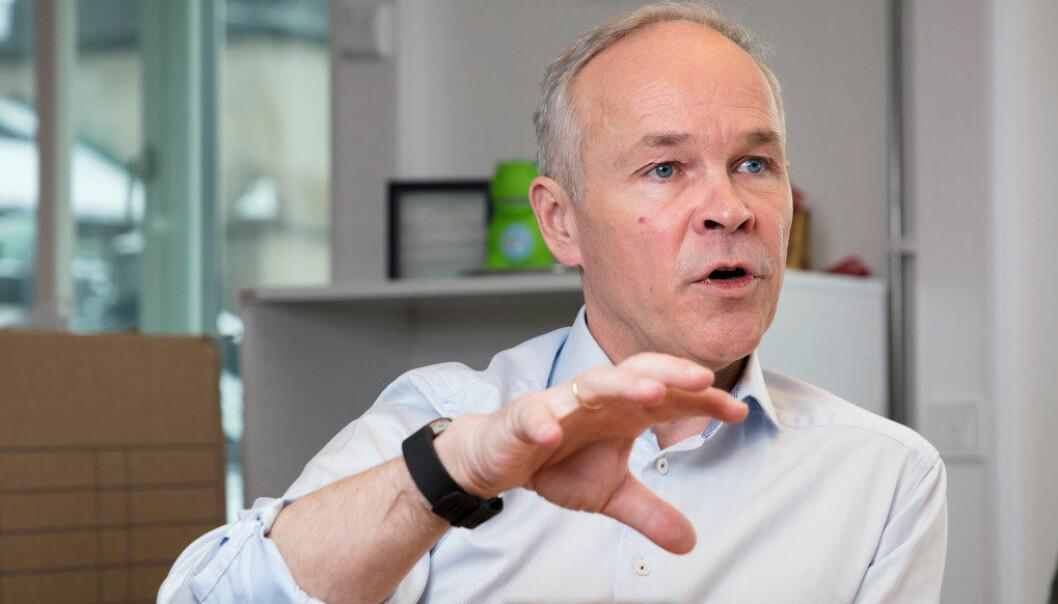Kunnskaps- og integreringsminister Jan Tore Sanner mener Norge må lykkes bedre enn man har gjort så langt for ha en bærekraftig innvandrings- og integreringspolitikk. Foto: Werner Juvik