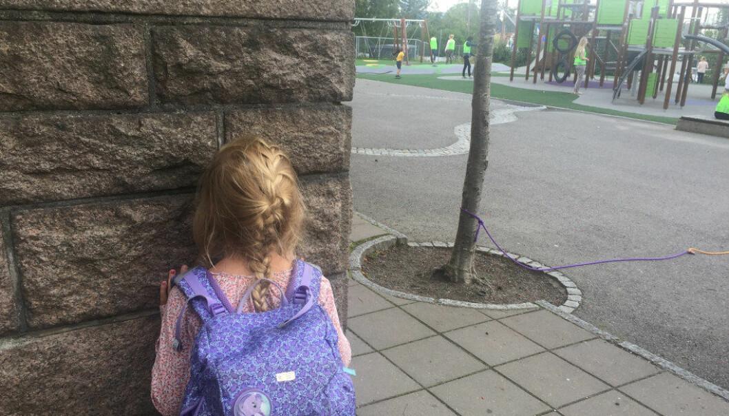 Elevens subjektive opplevelse av ikke å ha det trygt på skole skal legges til grunn når det gjelder mobbesaker. Ill.foto: Paal Svendsen