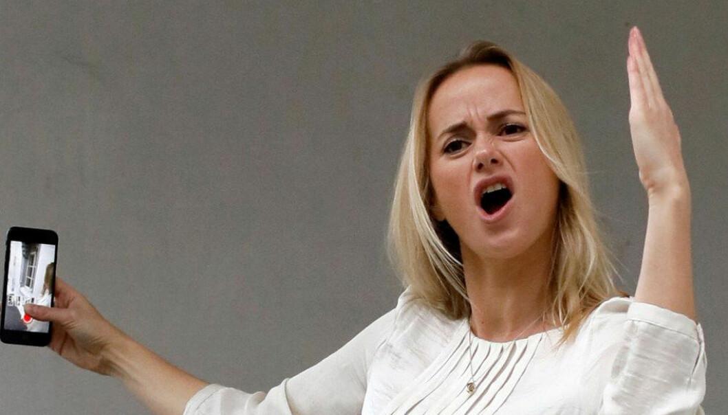 Tale Maria Krohn Engvik, bedre kjent som hele Norges «Helsesista» på Snapchat. Foto: Helsesista