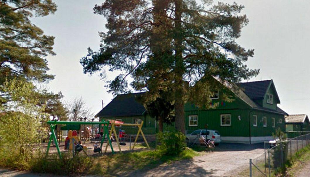 Epletunet barnehage. Foto: Google.