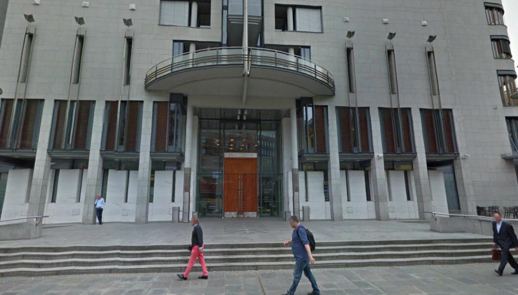 Oslo tingrett har dømt en tidligere elev til betinget fengsel for dokumentfalsk. Motivet var å unngå å få for høyt fravær. Foto Google