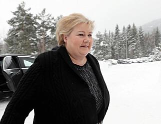 Solberg venter krevende forhandlinger om neste års budsjett