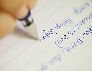 Håndskrift gir bedre læring