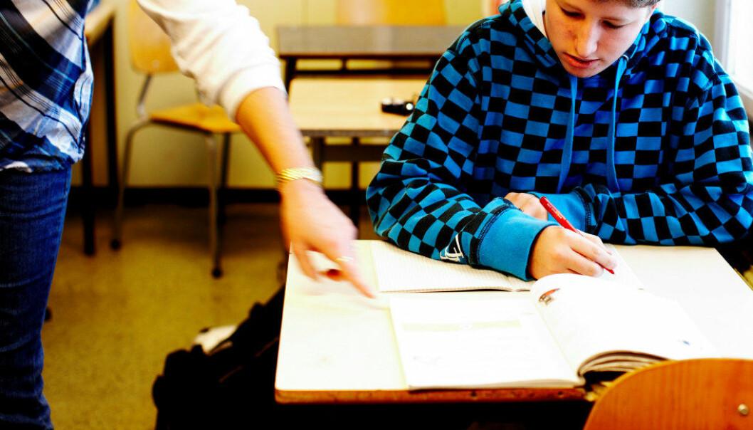 Nå skal det forskes på sammenhengen mellom elevenes læring og lærertetthet. Arkivfoto: Erik M. Sundt