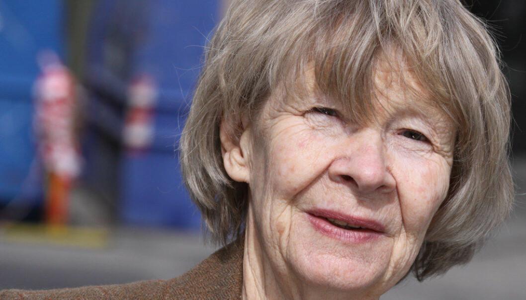 – Inkluderingen hadde sin tid, og nå er den lagt bort, sier Eva Simonsen. Eva Simonsen har lang er faring som spesialpedagog, skolebyråkrat og forsker. Foto: Tore Brøyn