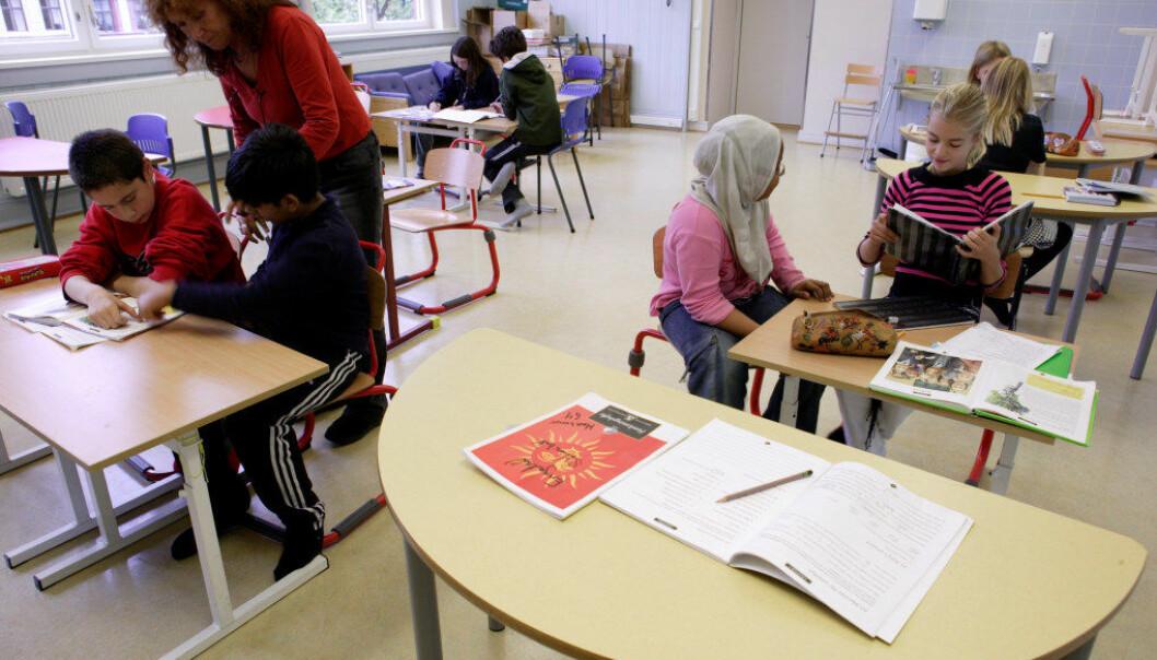 – Lærere i skolen tar kun i begrenset grad i bruk alle de språklige ressursene som ligger hos elevene. Foto: Erik M. Sundt