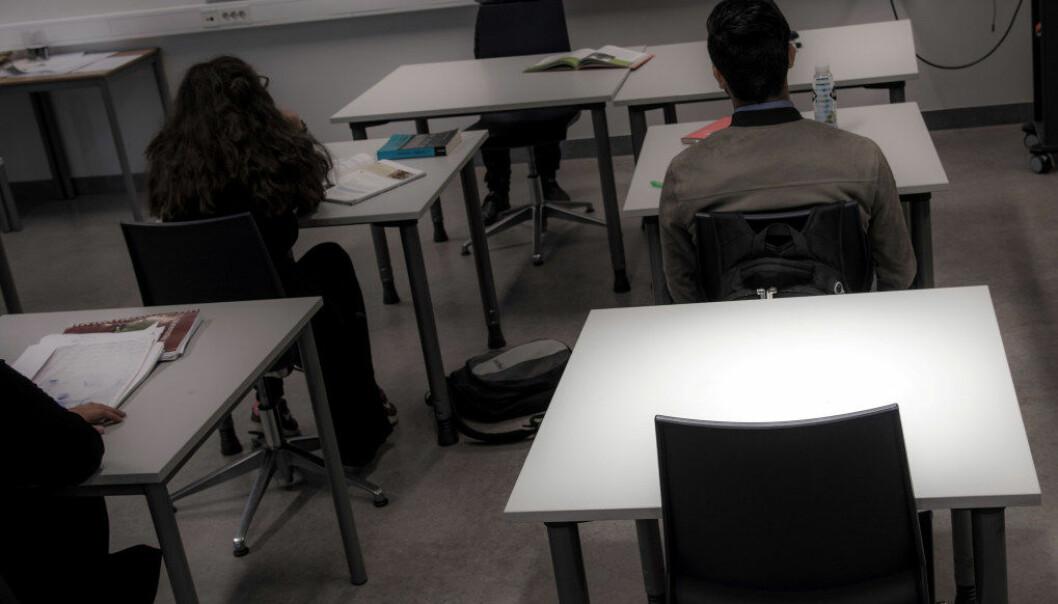 Regjeringen har sendt ut på høring et lovforslag som skal kunne sørge for at elever i videregående tvangsflyttes. Ill.foto: Utdanning