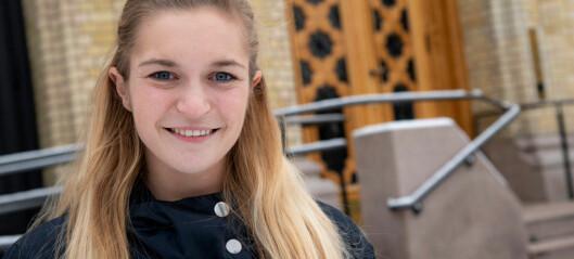 Mathilde Tybring-Gjedde har to politiske forbilder. Begge heter Kristin.