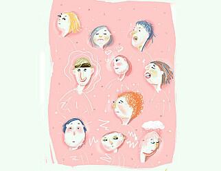 Erfaringar med psykisk helse på timeplanen