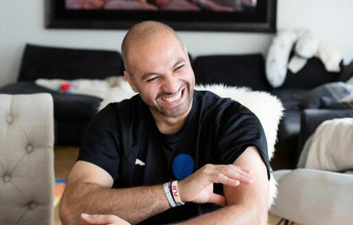 I nesten 20 år har Marco Elsafadi titulert seg som klemmefremmer
