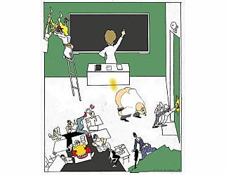 Uro i klassen kan gi lærere avmaktsfølelse