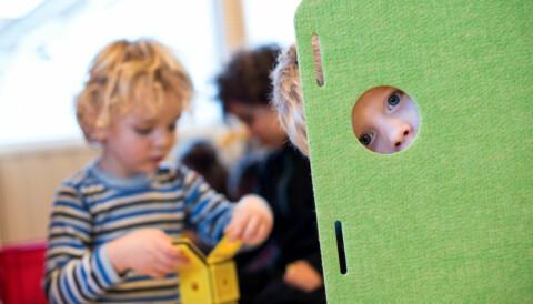 0acd861c Forventningene er store om at barnehagebarna skal leike seg til læring. Men  det er de