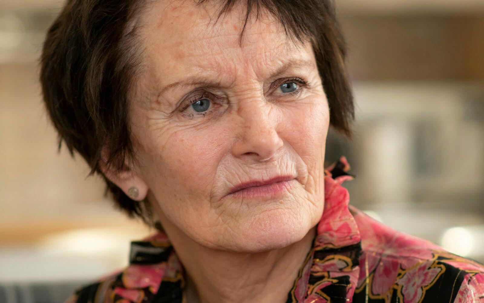 I 46 år jobbet Kjærsti som lærer. I 30 av de årene trivdes hun godt, men i 2006 startet problemene. Mobbingen førte til at Kjærsti byttet jobb to ganger. Foto: Erik M. Sundt