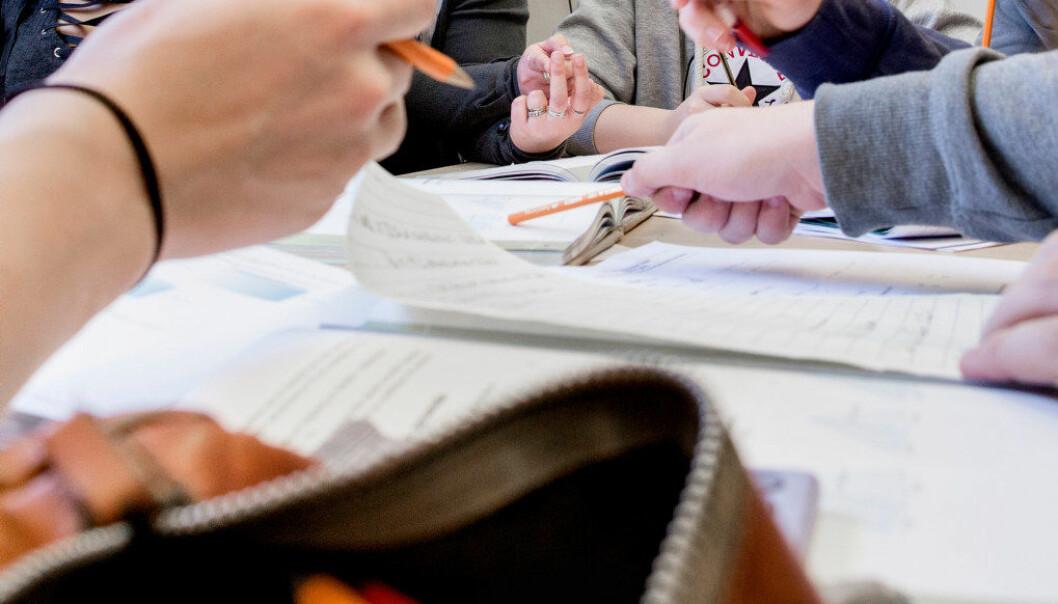 Her er noen gode råd til elever og foreldre når det gjelder matematikkopplæring. Arkivfoto: Tom-Egil Jensen