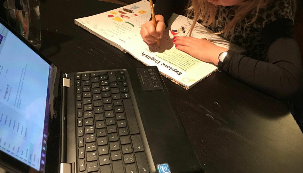 Det råder betydelig motstand mot bruk av digital teknologi blant enkelte lærerutdannere, hevder en forsker ved Universitetet i Stavanger. Ill.foto: Paal Svendsen