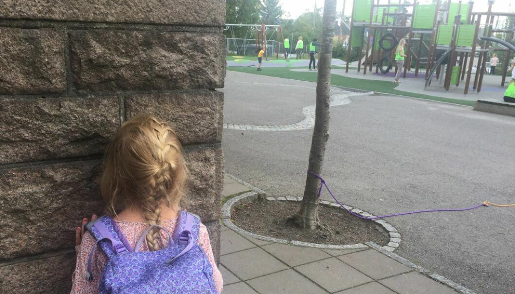 Her er ti råd for deg som har barn som ikke vil på skolen. Ill.foto: Paal Svendsen
