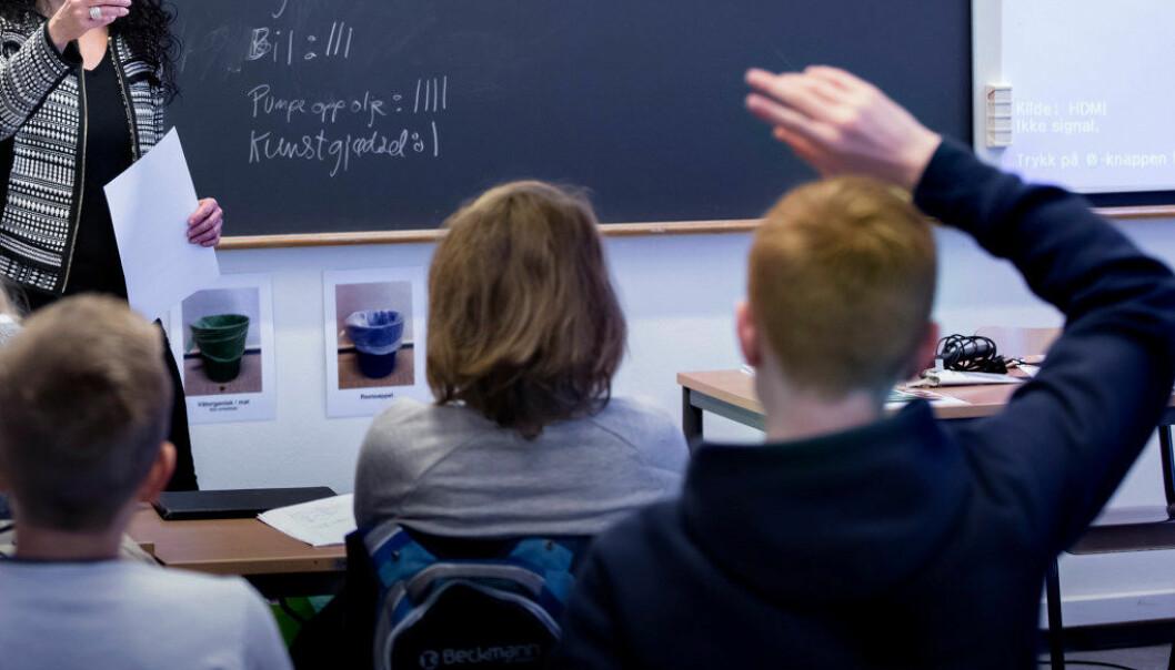 I en studie har Emil Sætra undersøkt bruk av kontroversielle spørsmål i undervisningen ved videregående skoler. Han kommer blant annet til at  kontroversielle spørsmål egner seg for demokratilæring. Arkivfoto: Utdanning
