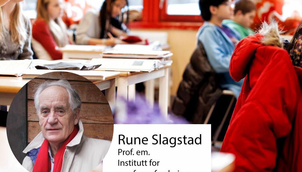 De skandinaviske landene var utdanningspolitiske foregangsland – så hvorfor har de endt opp med flatt å tilpasse seg OECDs forslag til reformer, spør Rune Slagstad. Arkivfoto: Utdanning / Tore Brøyn
