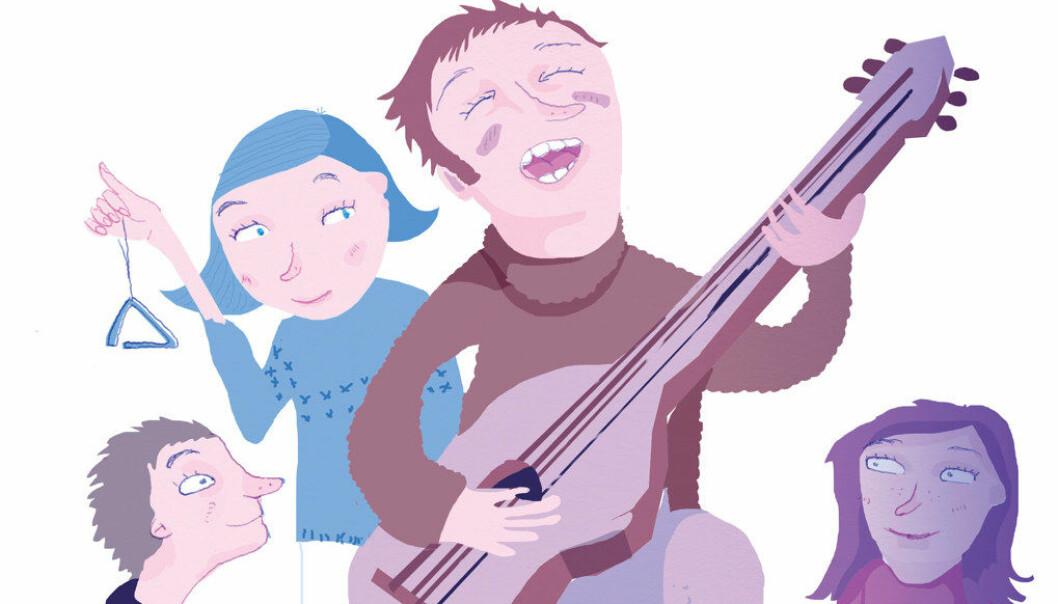 det kan bli valgfritt for lærerne i barneskolen om det skal synges i norsktimene eller ikke. Ill.: Tone Lileng
