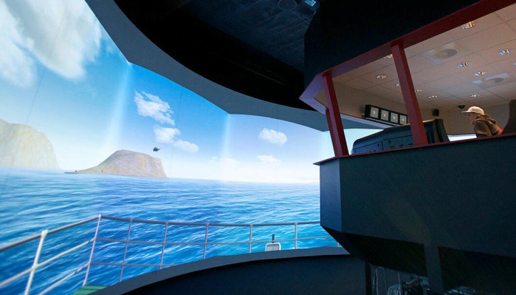Fagområder som byggfag, maritime fag, robotikk, helsefag og luftfartsfag er blant de som er representert. Her fra fiske og fangst i den avanserte simulatoren på Nordkapp maritime fagskole og videregående skole. Arkivfoto: Utdanning