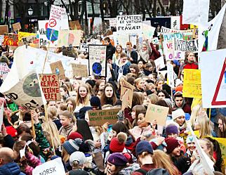 MDG foreslår å gi skoleelever streikerett