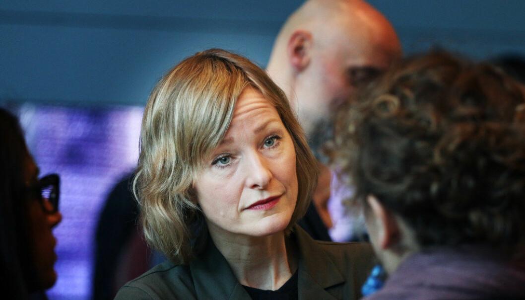 Byråd Inga Marte Thorkildsen mener at for å få til en rettferdig fordeling mellom bydelene i Oslo, må kommunen forskjellsbehandle. Foto: Jørgen Jelstad