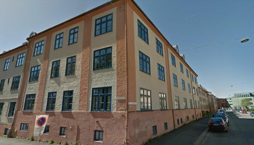 Gatene på østkanten har navn på personer med lavere status enn personene som har fått gater oppkalt etter seg på vestkanten i Oslo, ifølge en studie gjort av to elever. Her fra hjørnet av Per Kvibergs gate og Agathe Grøndals gate på Torshov. Foto: Google