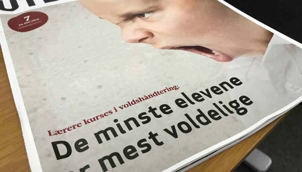 Bladet Utdanning si tabloide tilnærming er med å byggja opp om haldningar som ikkje er ynskjelege, og som me vil kjempa imot, skriv Bente Hovland Bergtun. Foto: Utdanning