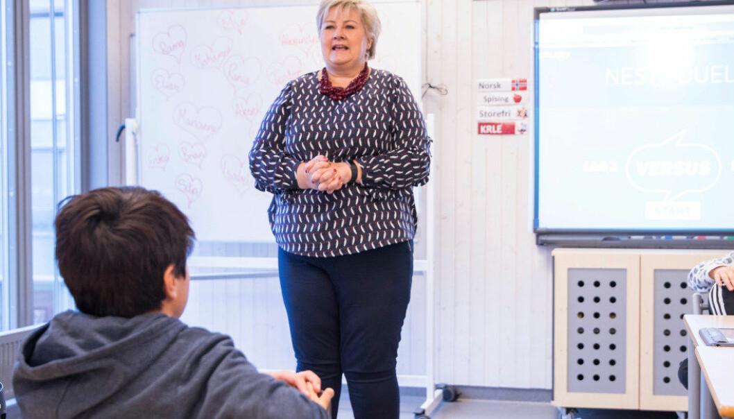 Her er fire eksempler fra videregående skole jeg mener regjeringen burde satse på om de vil ha resultater, skriver Thom Jambak i sentralstyret i Utdanningsforbundet. Foto: Terje Pedersen / NTB scanpix