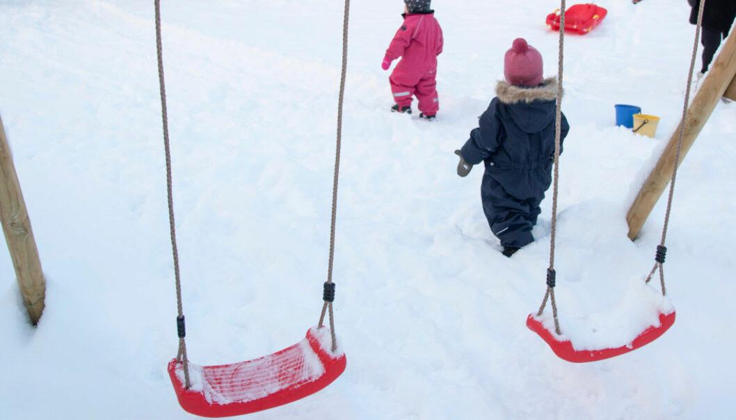 Utfordringen vi står overfor nå som bemanningsnormen for barnehagen er vedtatt, er at den er langt i fra god nok, skriver Odd Arild Viste i Utdanningsforbundet Bergen. Arkivfoto: Erik M. Sundt