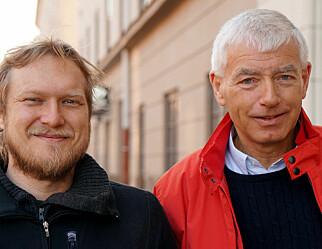 Torkild Jemterud har vitenskaps-suksess på NRK. Naturfagsgløden takker han lærer Tore Isaksen for.