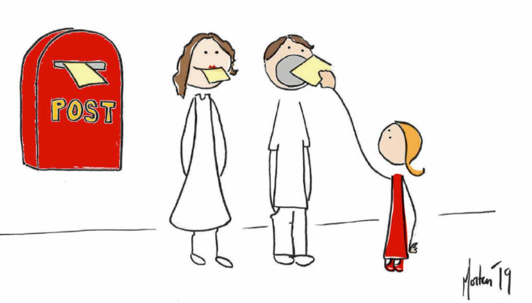 De interessante spørsmålene om lek handler ikke om hvorvidt vi kaller det frilek eller ikke, men hvordan vi som profesjonelle deltar i og forholder oss til barns lek, skriver Morten Solheim. Illustrasjon: Morten Solheim